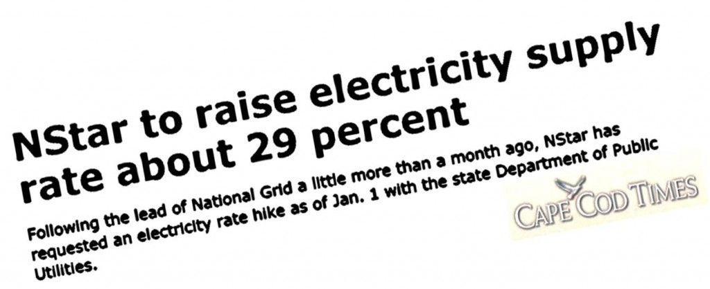NSTAR Raising Electric Rates