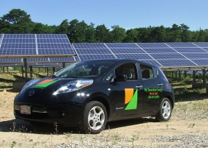Efficient technologies such as solar panels and electric vehicles are making Massachusetts stronger and more resilient. Photo Credit: My Generation Energy
